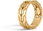 John Hardy Men's Classic Chain 8MM Band Ring in 18K Gold
