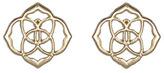 Dira Stud Earrings, Gold