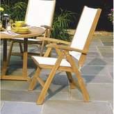 Kingsley St. Tropez Adjustable Dining / Lounge Armchair (Folding) - Slate Bate