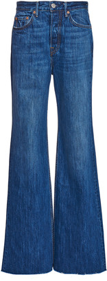GRLFRND Denim Carla High-Rise Wide-Leg Jeans