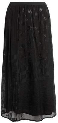 Pas De Calais Sheer Sparkle Skirt