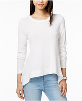 Tommy Hilfiger Long-Sleeve Asymmetrical-Hem Top, Only at Macy's