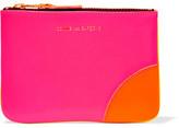 Comme des Garcons Super Fluo Neon Leather Wallet - Pink
