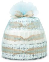 Bed Bath & Beyond Honest® Large Diaper Cake in Anchors and Stripes