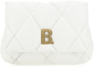 Balenciaga Touch Puffy Clutch Bag