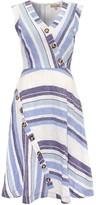 Phase Eight Carie Block Stripe Dress