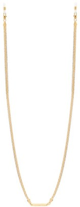 Frame Chain Chain Reaction Gold-plated Glasses Chain - Silver Gold