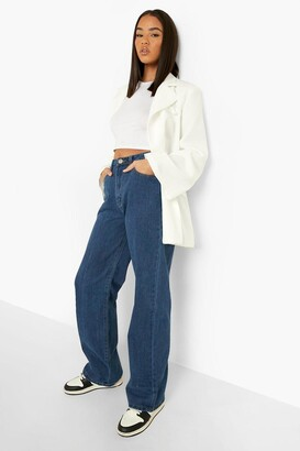 boohoo Denim Basic Wide Leg Jean