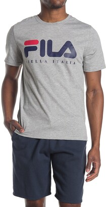Fila Usa Biella Italia Logo T-Shirt
