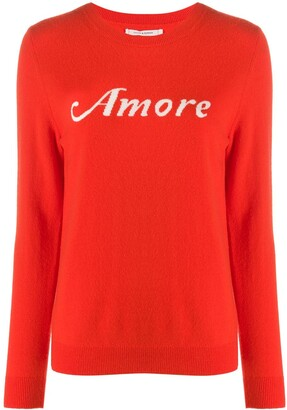 Chinti and Parker Amore knit jumper