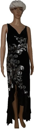 Jenny Packham Black Velvet Dresses