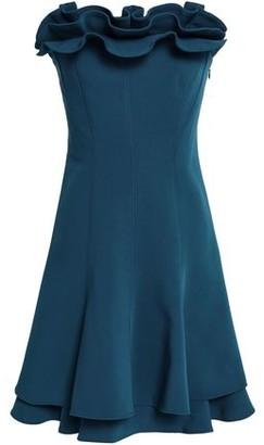 Cinq à Sept Tansy Strapless Ruffled Crepe Mini Dress