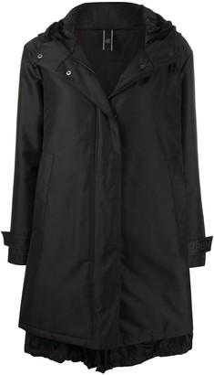 Hogan H86N hooded parka coat