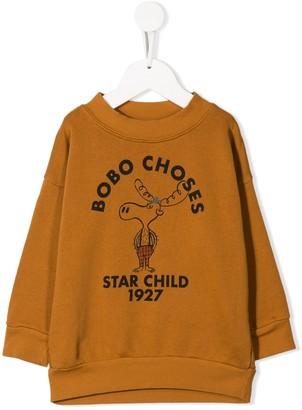 Bobo Choses Logo Printed Sweatshirt