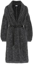 Brunello Cucinelli Cashmere and mohair-blend cardigan