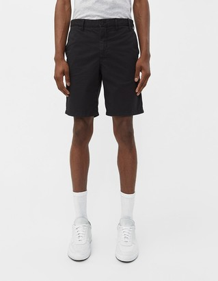Norse Projects Men's Aros Light Twill Short in Black, Size 28 | 100% Cotton