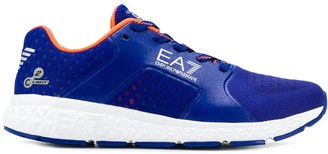 EA7 Emporio Armani Lace-Up Logo Sneakers