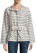 Liz Claiborne Long Sleeve Anorak Jacket
