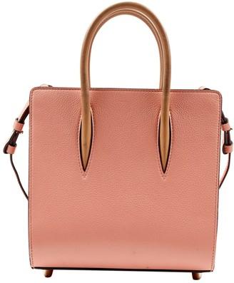 Christian Louboutin Paloma Pink Leather Handbags
