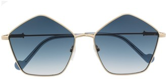 Liu Jo Pentagon-Shaped Sunglasses