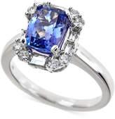 Macy's Tanzanite (2-1/5 ct. t.w.) and Diamond (1/2 ct. t.w.) Ring in 14k White Gold