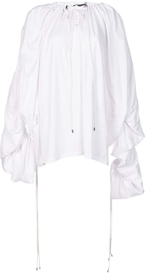 Y/Project Drawstring Draped Top