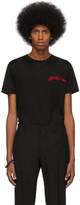 Alexander McQueen Black Mercerized Logo T-Shirt