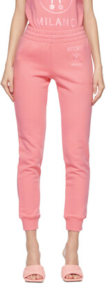 Moschino Pink Double Question Mark Lounge Pants
