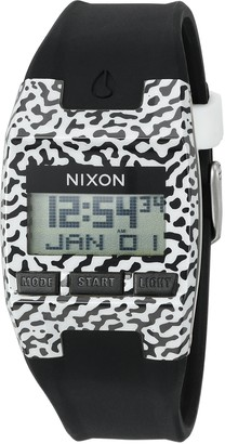 Nixon Men's 'Comp S' Plastic and Silicone Automatic Watch