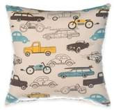 Glenna Jean Traffic Jam Car Print Throw Pillow