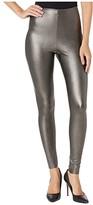 Commando Perfect Control Faux Leather Leggings SLG06 (Black) Women's Underwear