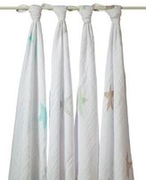 Aden Anais Aden and Anais Super Star Scout Classic Swaddle 2033G by aden by aden + anais