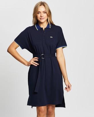 Lacoste Semi Fancy Fluid Polo Dress