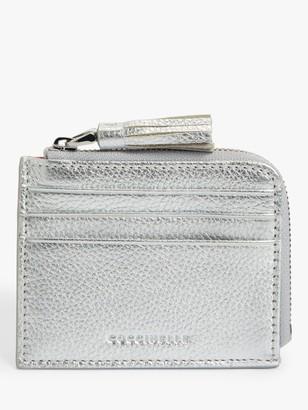 Coccinelle Tassel Leather Card Holder