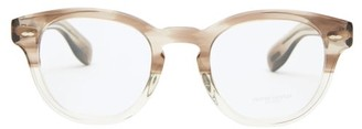 Oliver Peoples Cary Grant Round Acetate Glasses - Beige