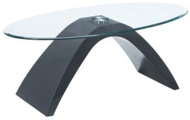 Furniture of America Ouyen Oval Coffee Table