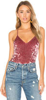 Privacy Please x REVOLVE Madre Bodysuit in Pink. - size XS (also in )