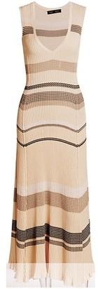 Proenza Schouler Zig-Zag Midi Dress