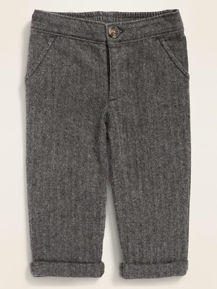 Old Navy Rolled-Cuff Herringbone Pants for Baby
