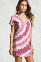 Forever 21 Tie-Dye Cutout T-Shirt Dress