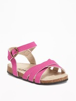 Old Navy Sueded Strappy Sandals for Baby