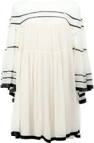 Chloé wide sleeved dress - women - Silk/Polyester - 38