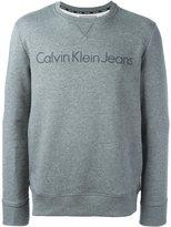 Calvin Klein Jeans logo print swearshirt