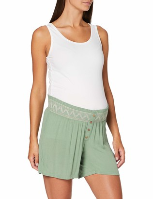 Mama Licious Mamalicious Women's Mlhailey Woven Shorts