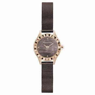 BCBGMAXAZRIA Women's Classic Japanese-Quartz Watch with Stainless-Steel Strap