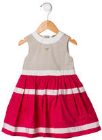 Armani Junior Girls' Sleeveless Teacup Dress