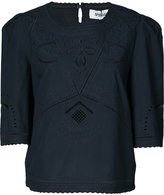 Derek Lam 10 Crosby broderie anglaise blouse - women - Cotton - 2