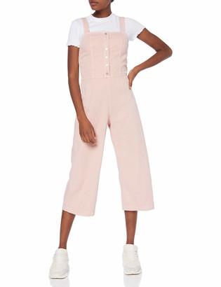 New Look Women's Richie Button Jumpsuit