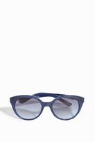 Paul & Joe Round Cat-Eye Sunglasses