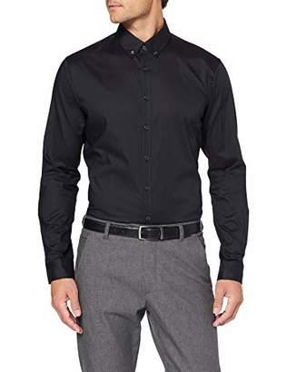 Brax Men's Daniel Broken Oxford Button Down Casual Modern Fit Shirt